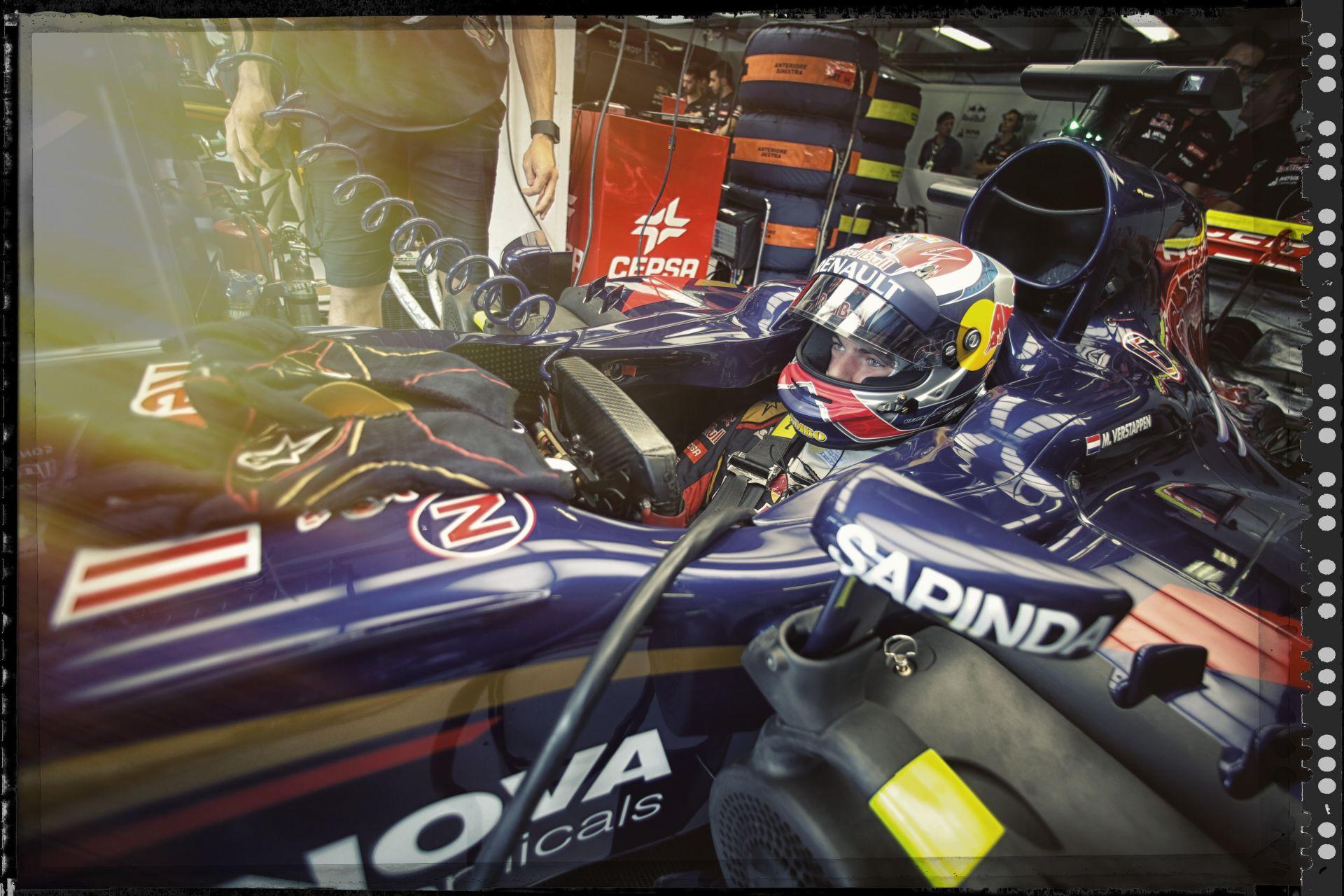 Max Verstappen a tuti recept - egy kis Bellof és egy kis Vettel!