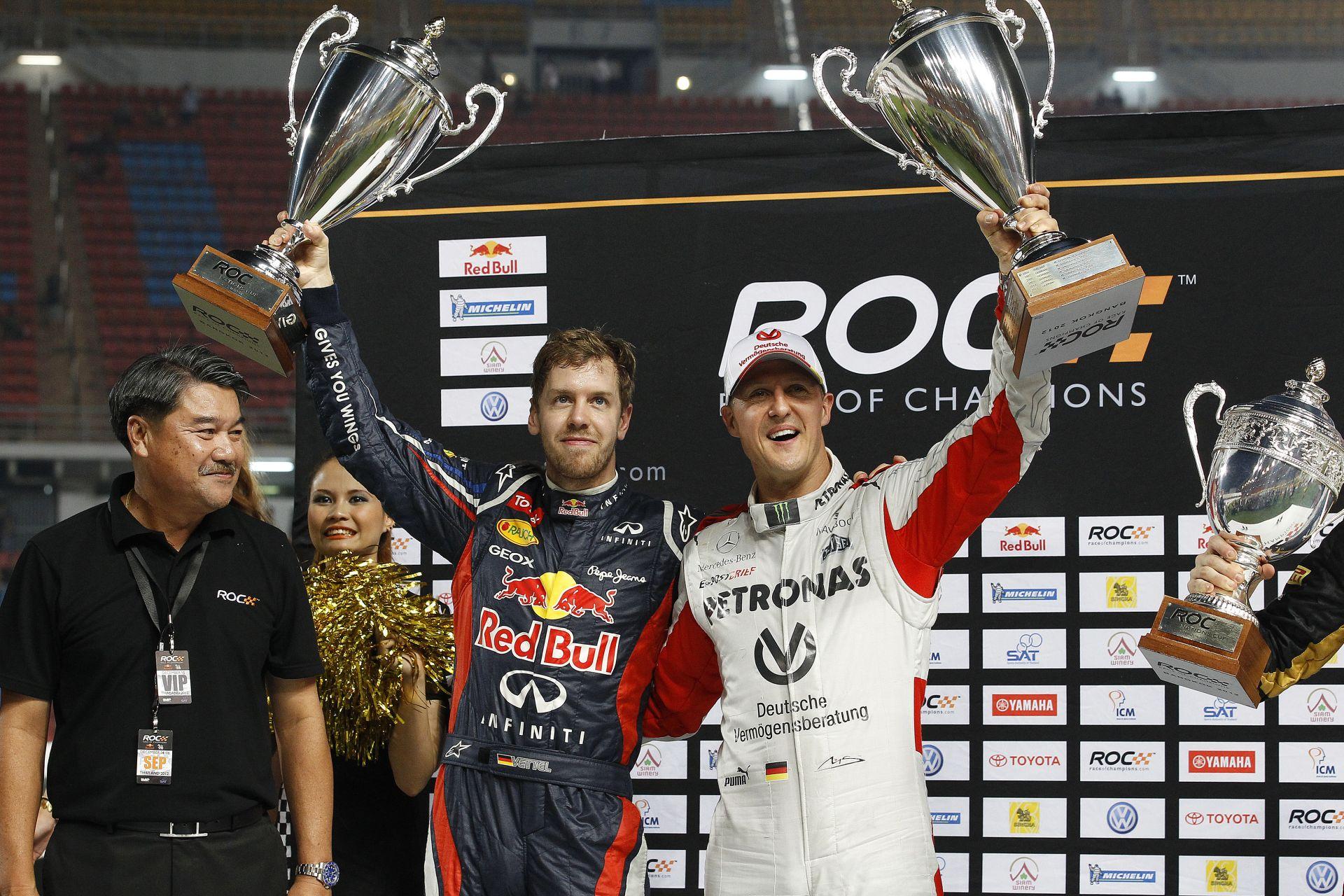 Vettel: Schumi dinoszaurusz méretű lábnyomot hagyott a Ferrarinál!