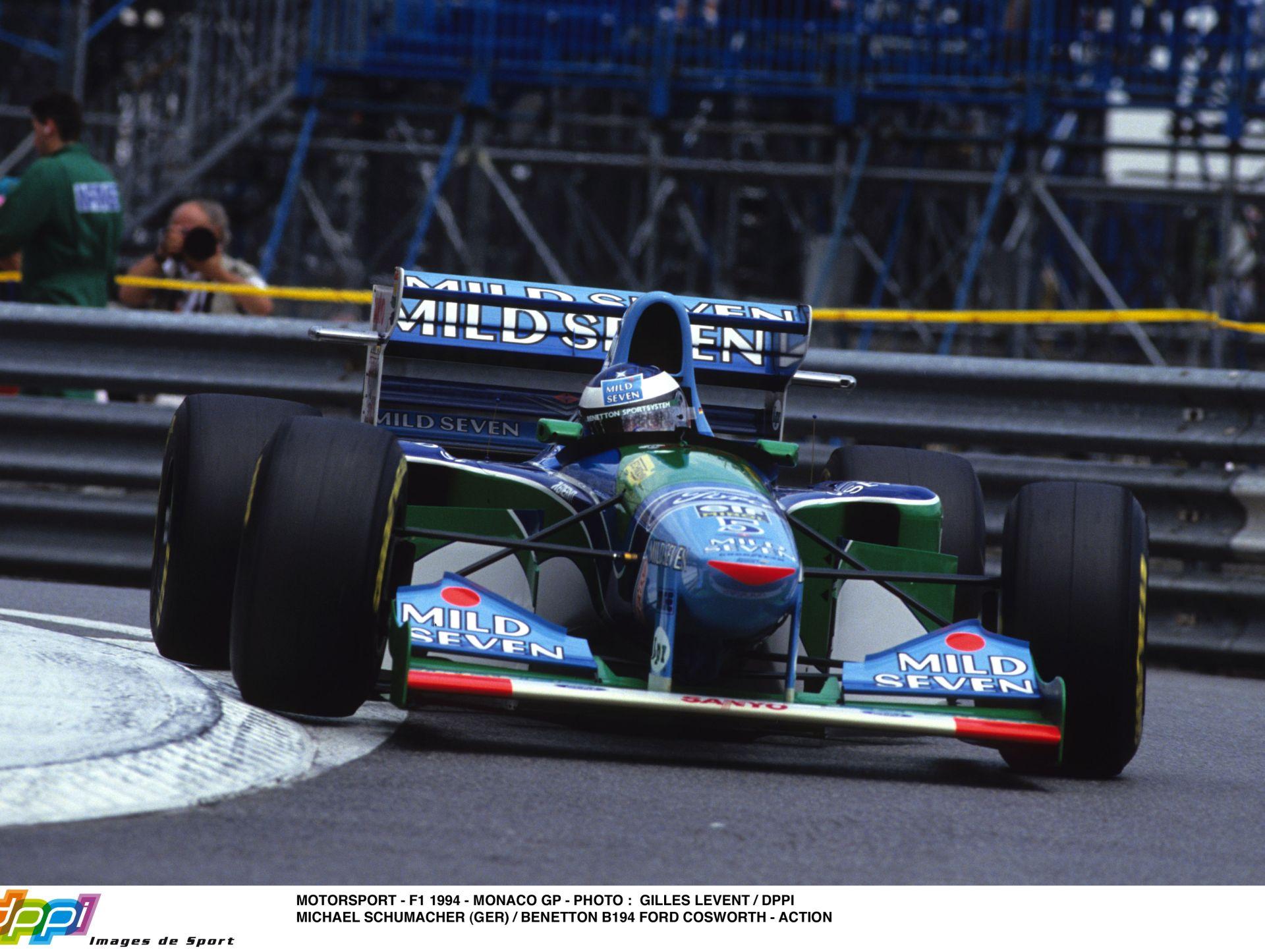 1994. augusztus 28.: Schumachert kizárják, Hill megnyeri a Belga Nagydíjat