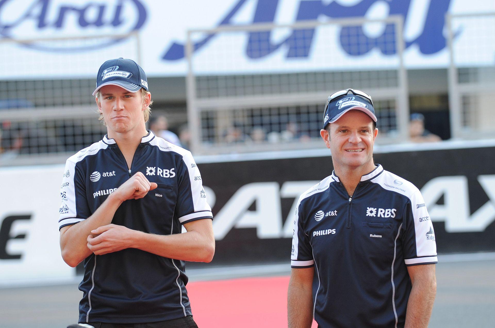 Barrichello: Top-csapatot Hülkenbergnek!
