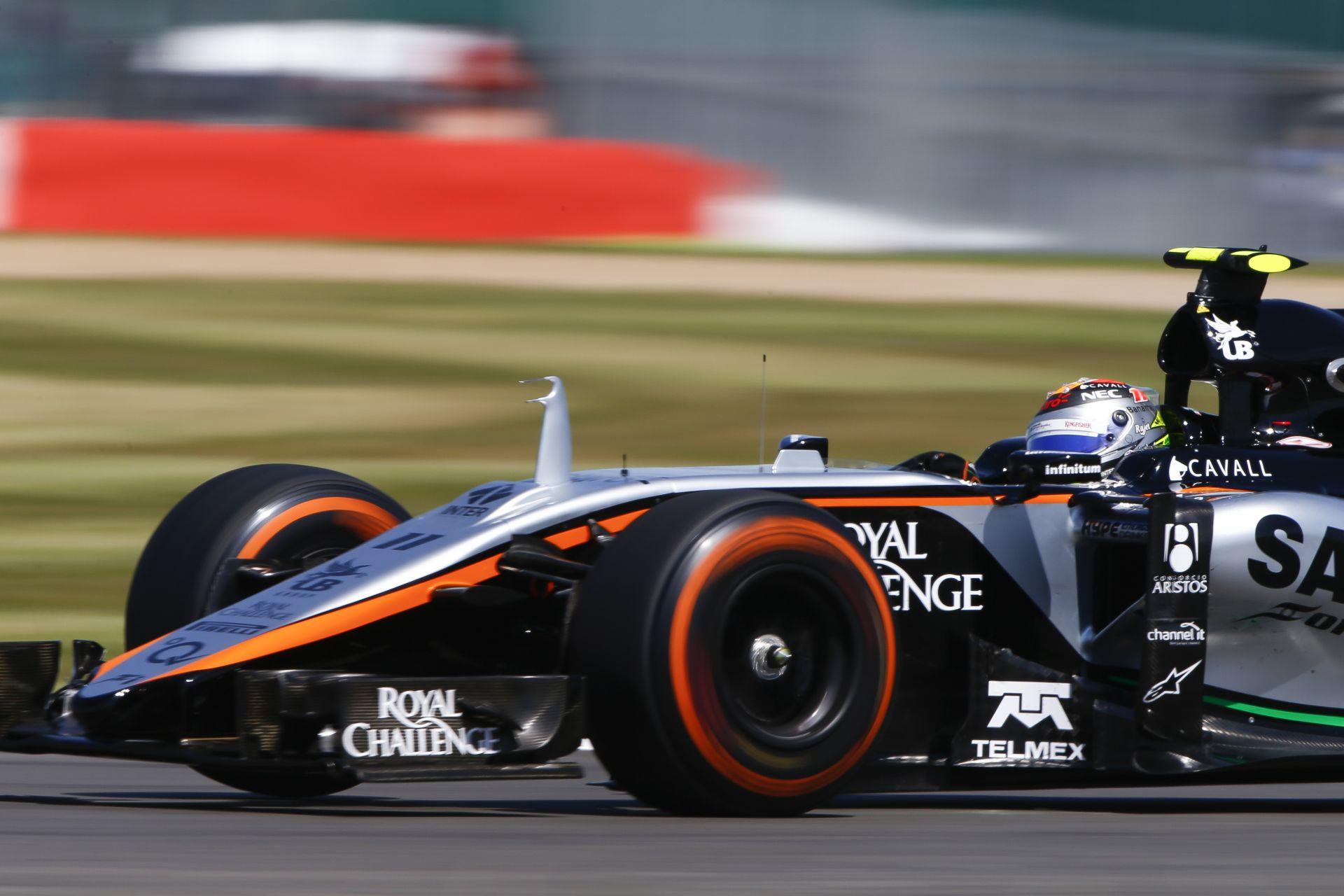 Ha ez így megy tovább, a Force India megérkezhet a Ferrari, vagy a Williams mögé