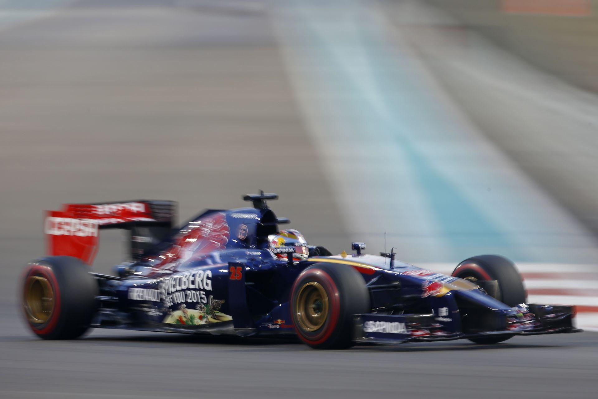 Ez lesz Vergne utolsó F1-es fellépése? Videón a Toro Rosso francia versenyzője