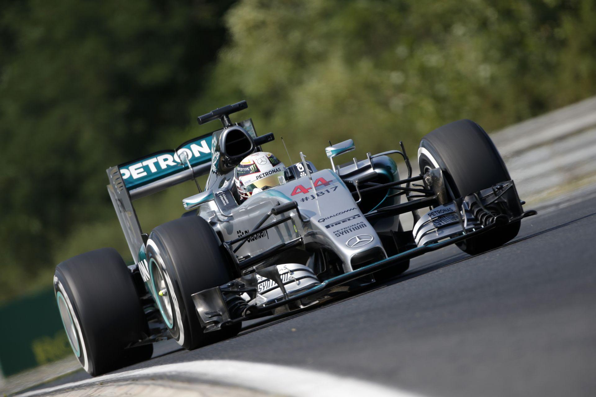 Hamilton: Talán soha nem volt ennyire jó hétvégém a Forma-1-ben, mint most a Magyar Nagydíjon