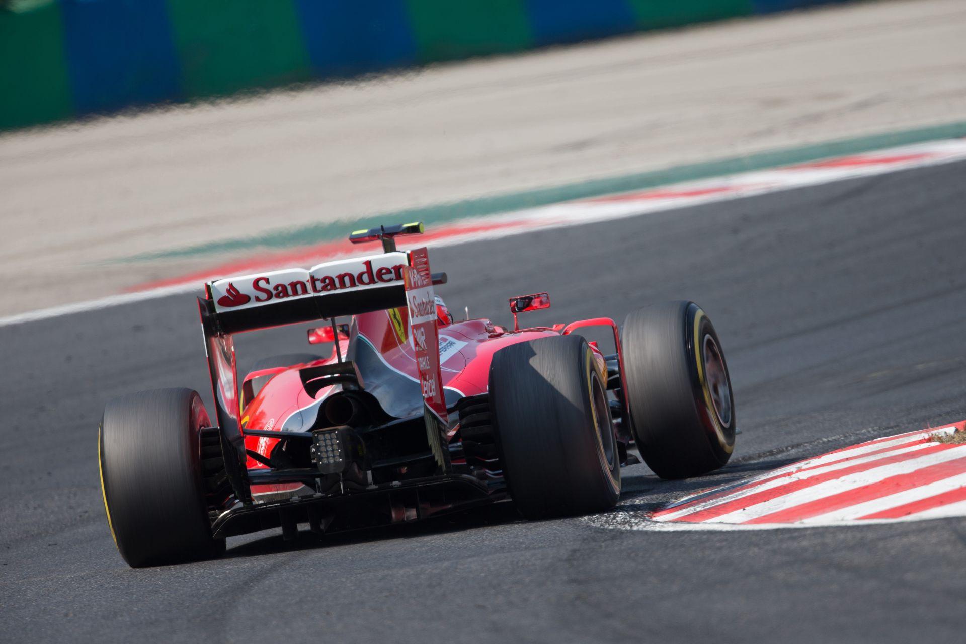 Raikkönen ismét kikapott Vetteltől az időmérőn, de nem izgatja a dolog