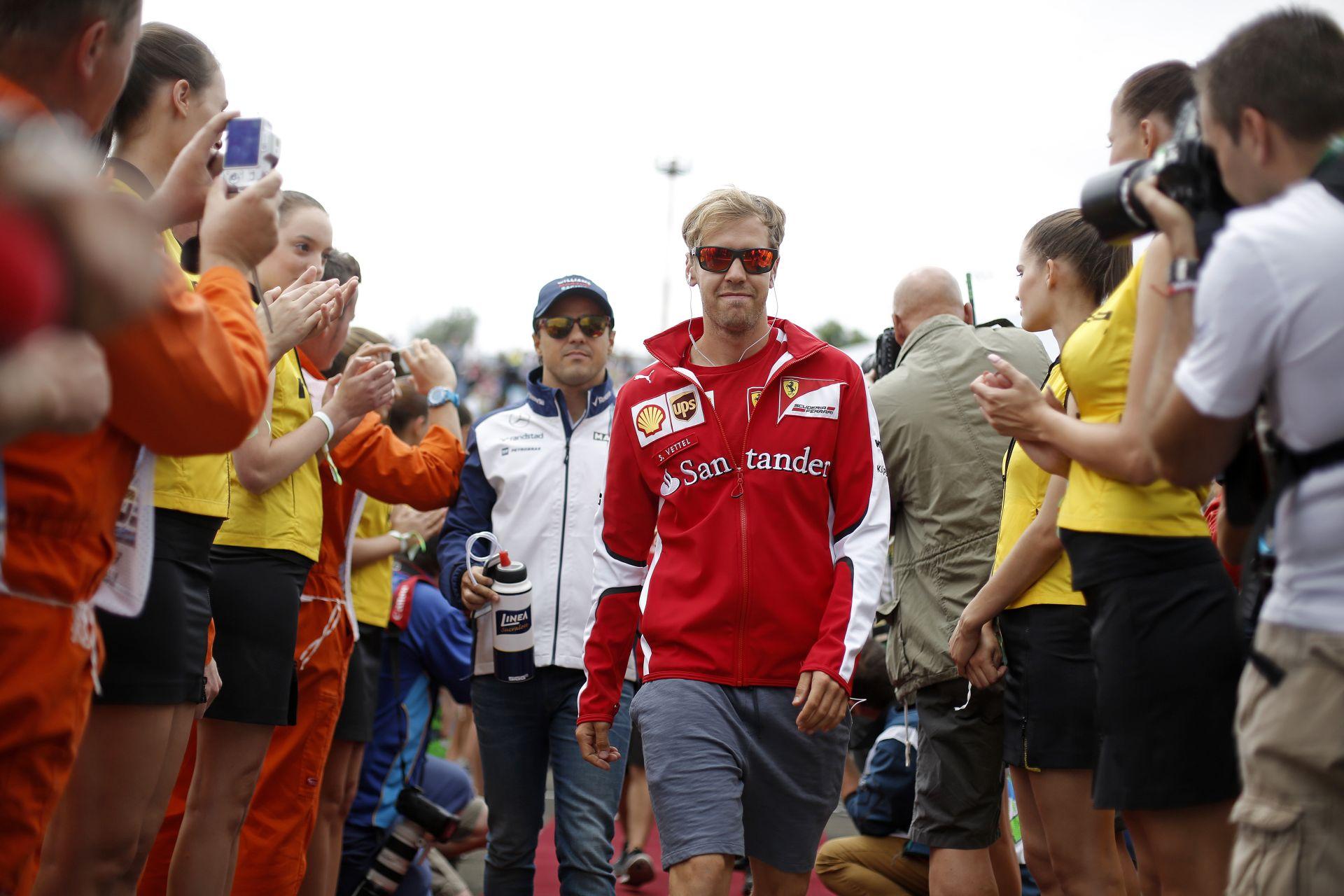 Vettel hiányolja a porcelánserleget: végre belendült a Magyar GP-karrierje?!