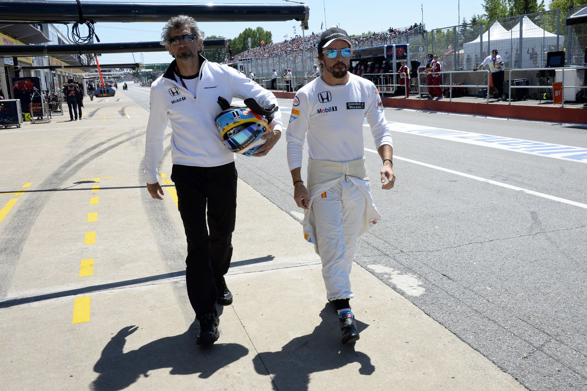 Alonso: Folyamatos a fejlődés a McLaren-Hondánál, én tudom!