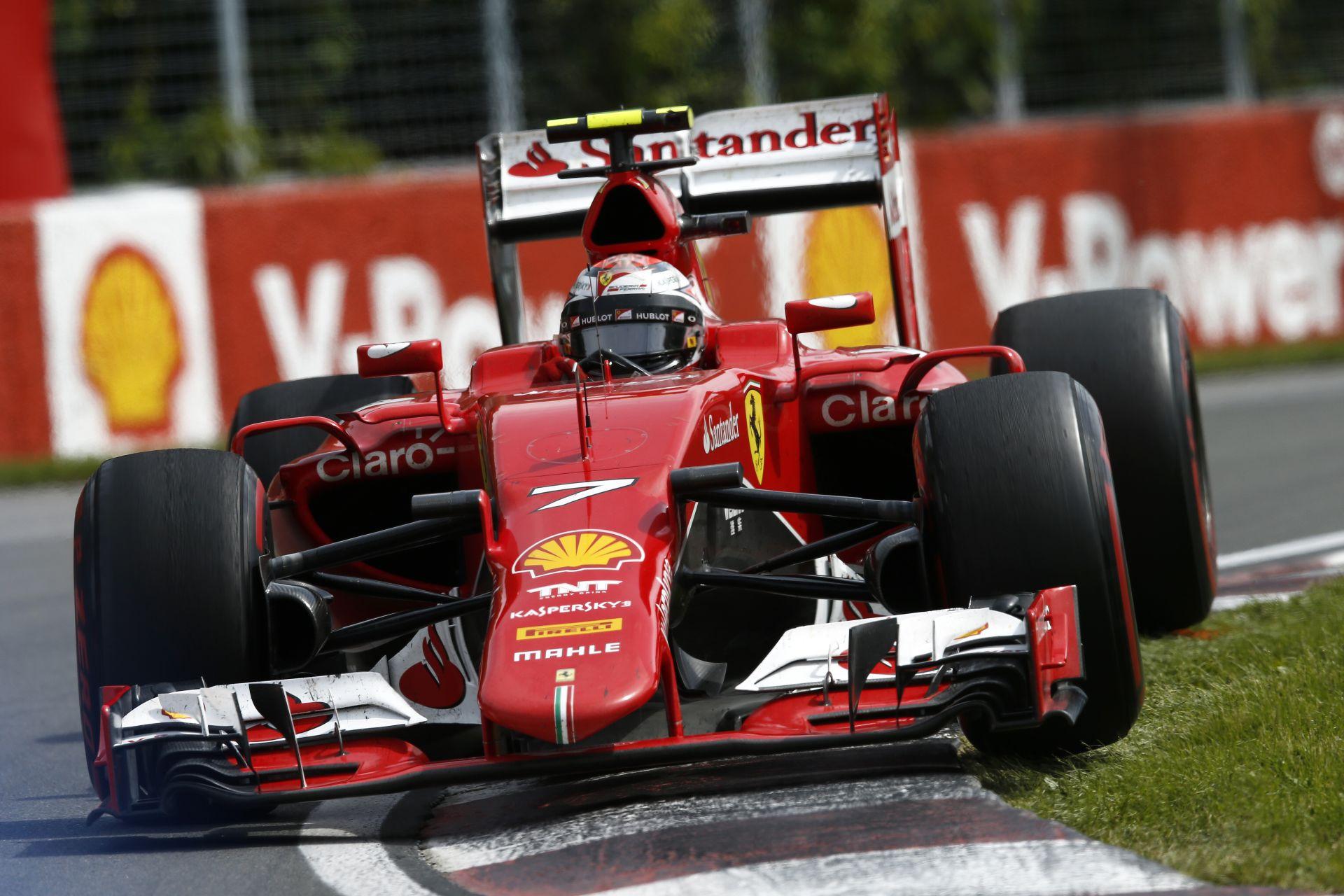 Raikkönen startja Montrealból: Rosberg meglehetett volna neki
