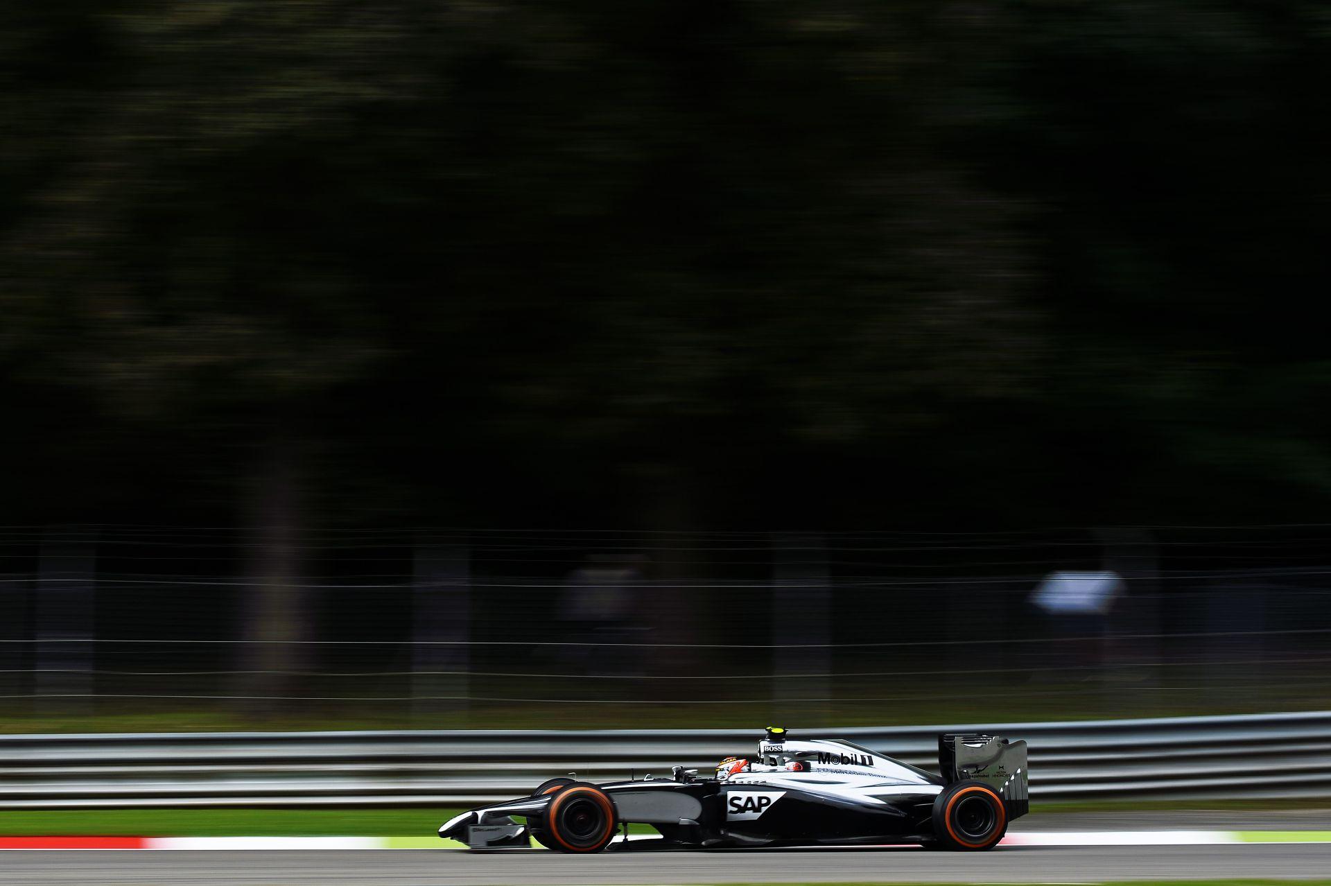 Egy nagyon erős McLarent láthatunk az idei Olasz Nagydíjon