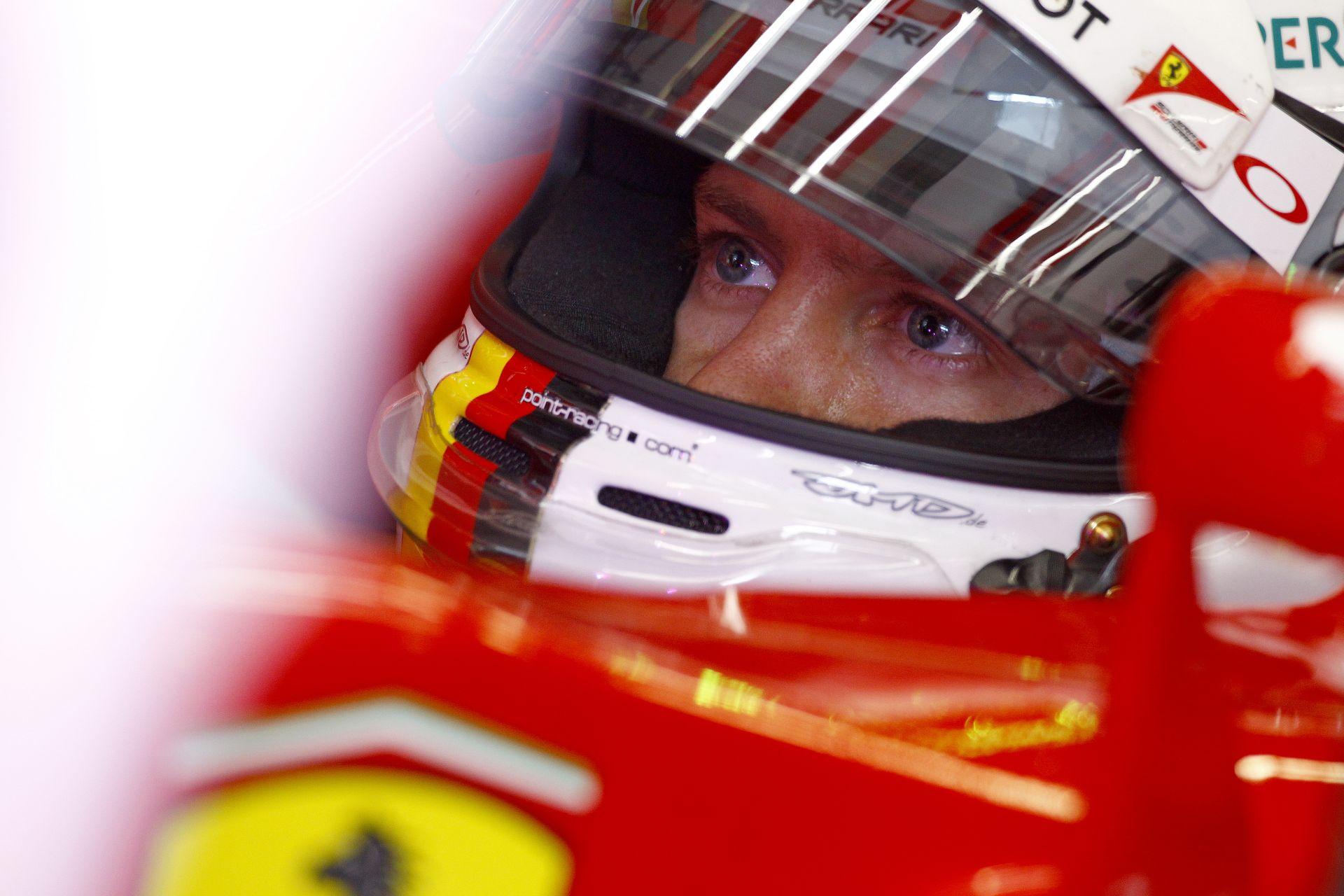 Vettel nyerte a harmadik edzést a Ferrarival Hamilton és Raikkönen előtt! 50 helyes büntetést kaphat a McLaren