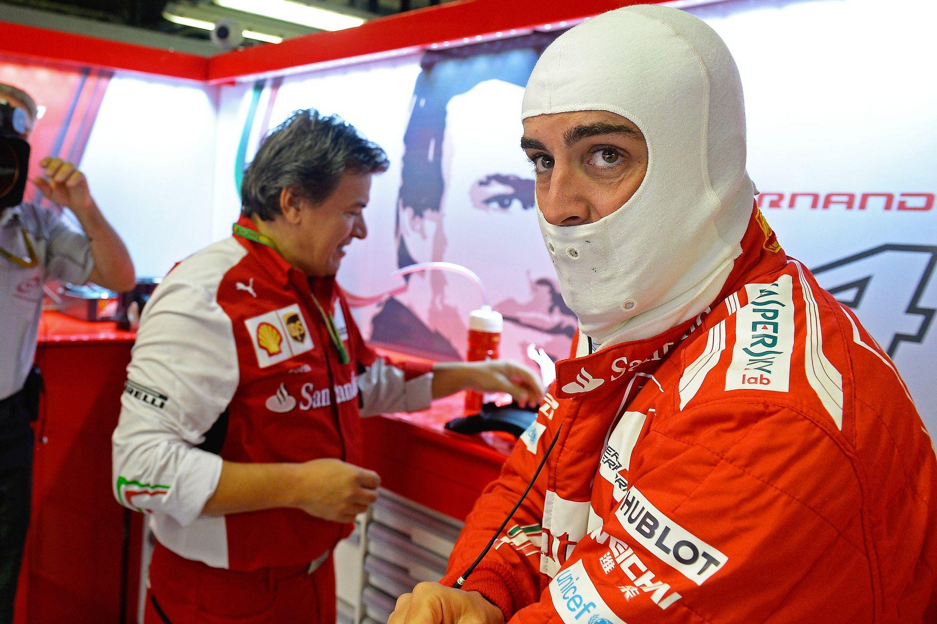 Alonso: Ez olyan, mintha fociban, vagy a kosárlabdában nem kaphatnának parancsot a játékosok