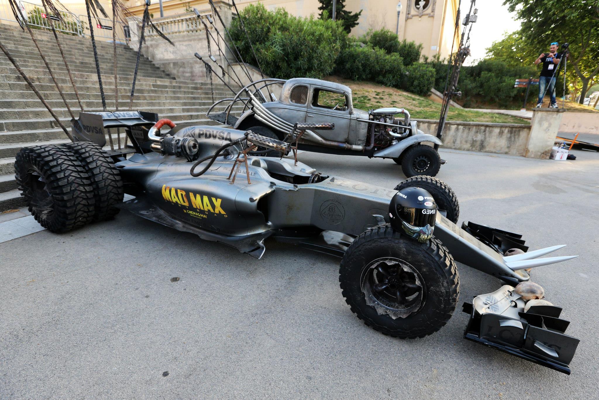 Néhány új kép minden idők legdurvább F1-es autójáról: Mad Max Lotus