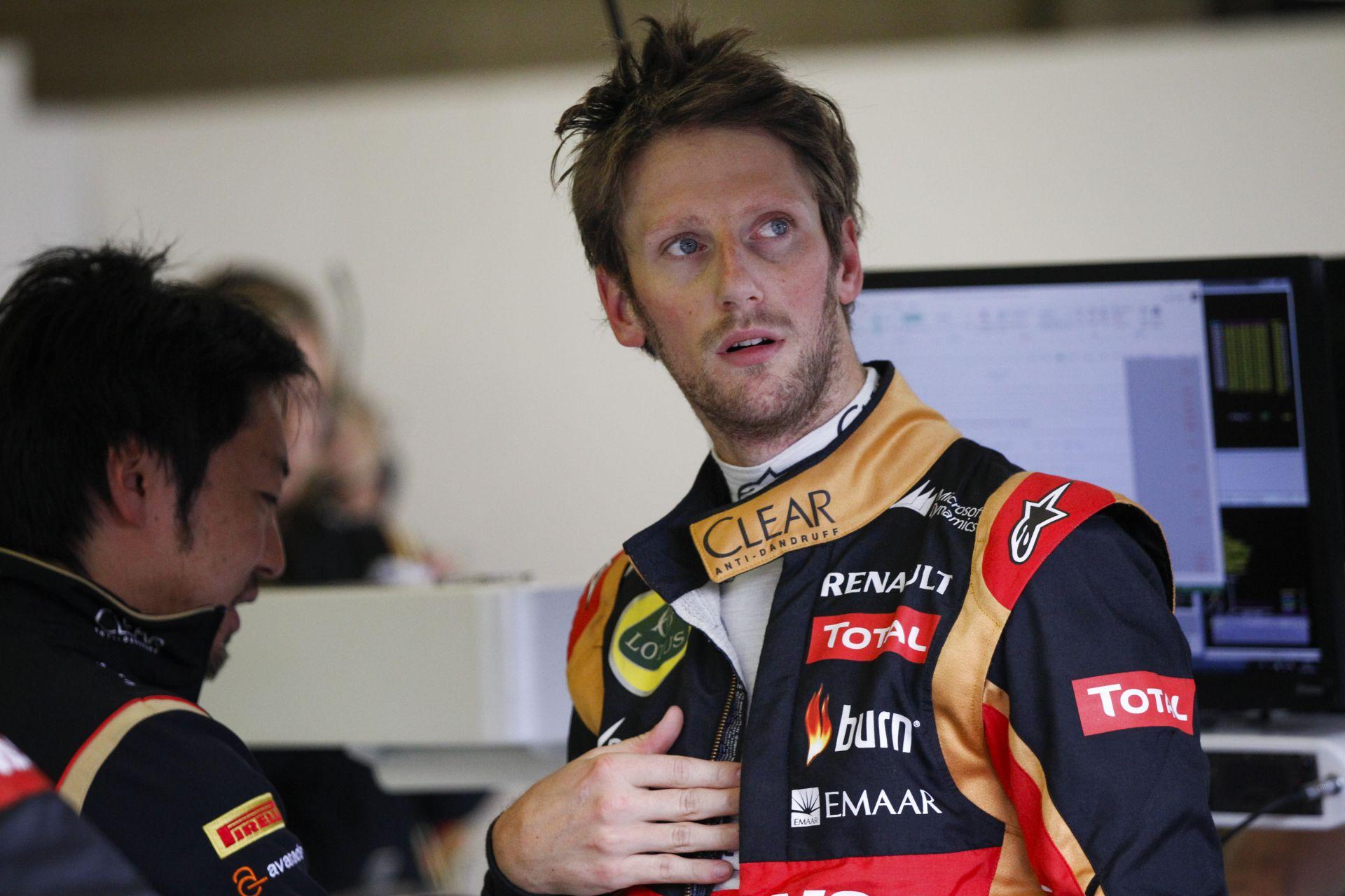 Grosjean örömmel szerződne a Ferrarihoz, a Mercedeshez, a Red Bullhoz vagy a McLarenhez