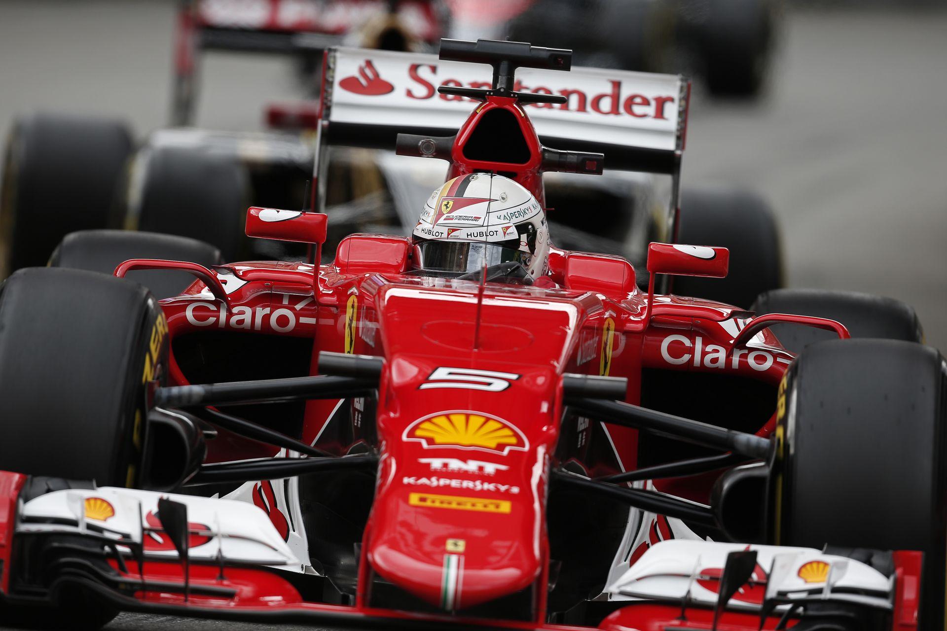 Vettel és Ferrari-parádé a harmadik edzésen Monacóban! Raikkönen autót tört