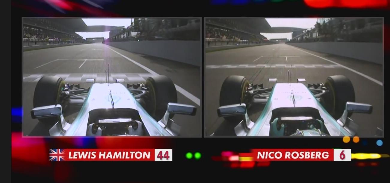 Ennyivel volt jobb Hamilton Rosbergnél a Kínai Nagydíj időmérő edzésén: Kikockázva!