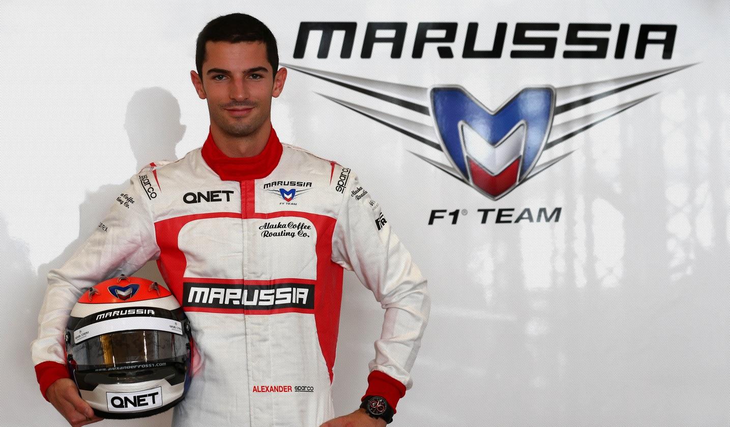 Hivatalos: Rossi a Marussia tartalékversenyzője lett