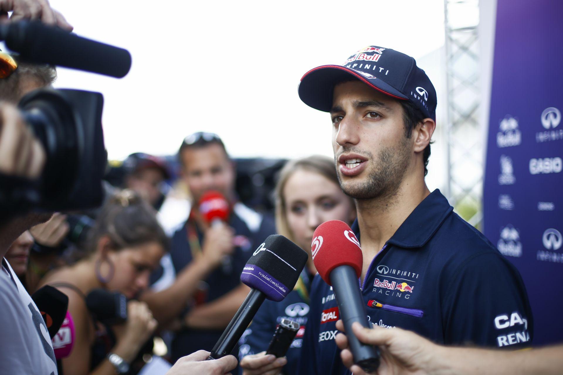 Ricciardo: Még mindig túl messze van a Mercedes