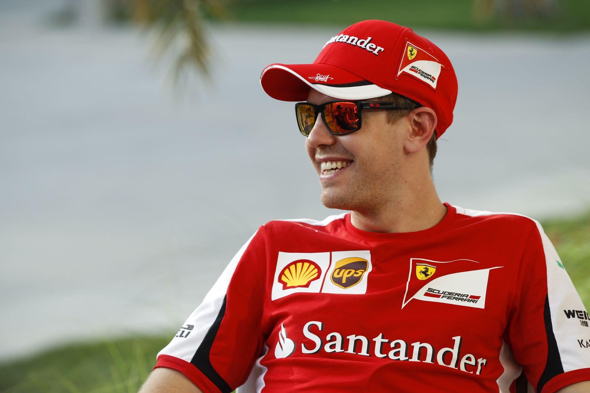 Vettel: Raikkönen gyors és rendkívül jó munkát végez!