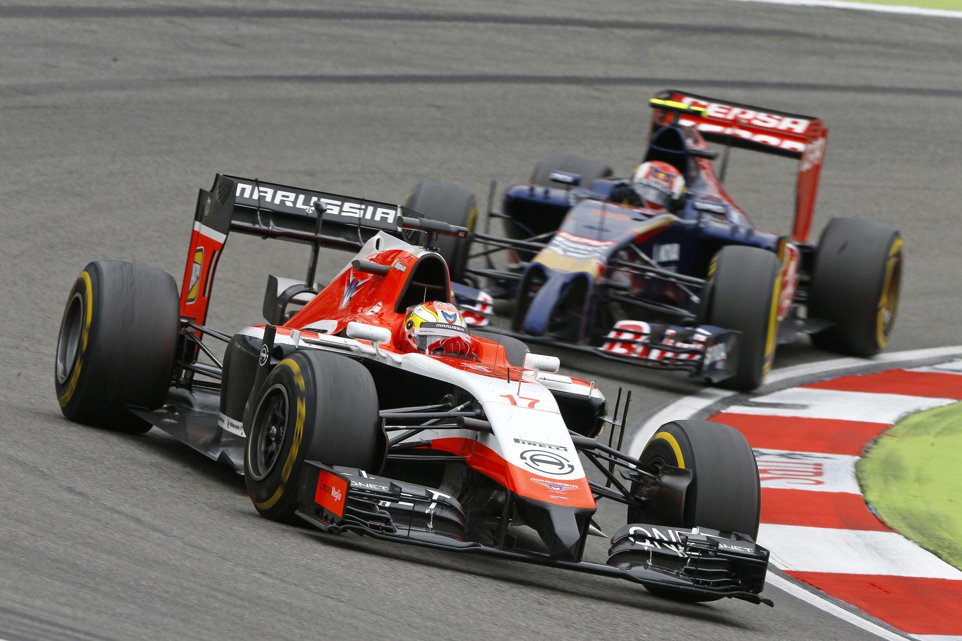 Bianchi örül, hogy az egyik Ferrari előtt van: az olaszok nem tudták, hogy mire képes