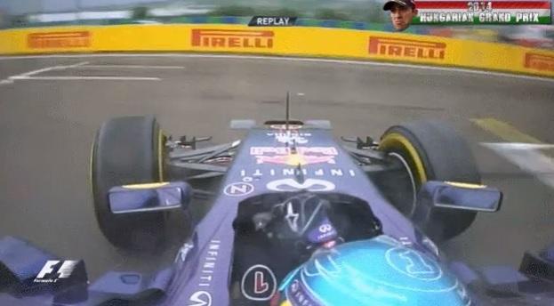 Újabb felvételek Vettel hihetetlen mentéséről a Hungaroringen
