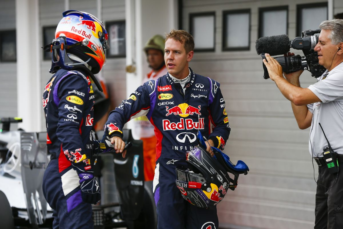Vettel olykor nem volt egy szinten Ricciardóval, aki nem egy paprikajancsi