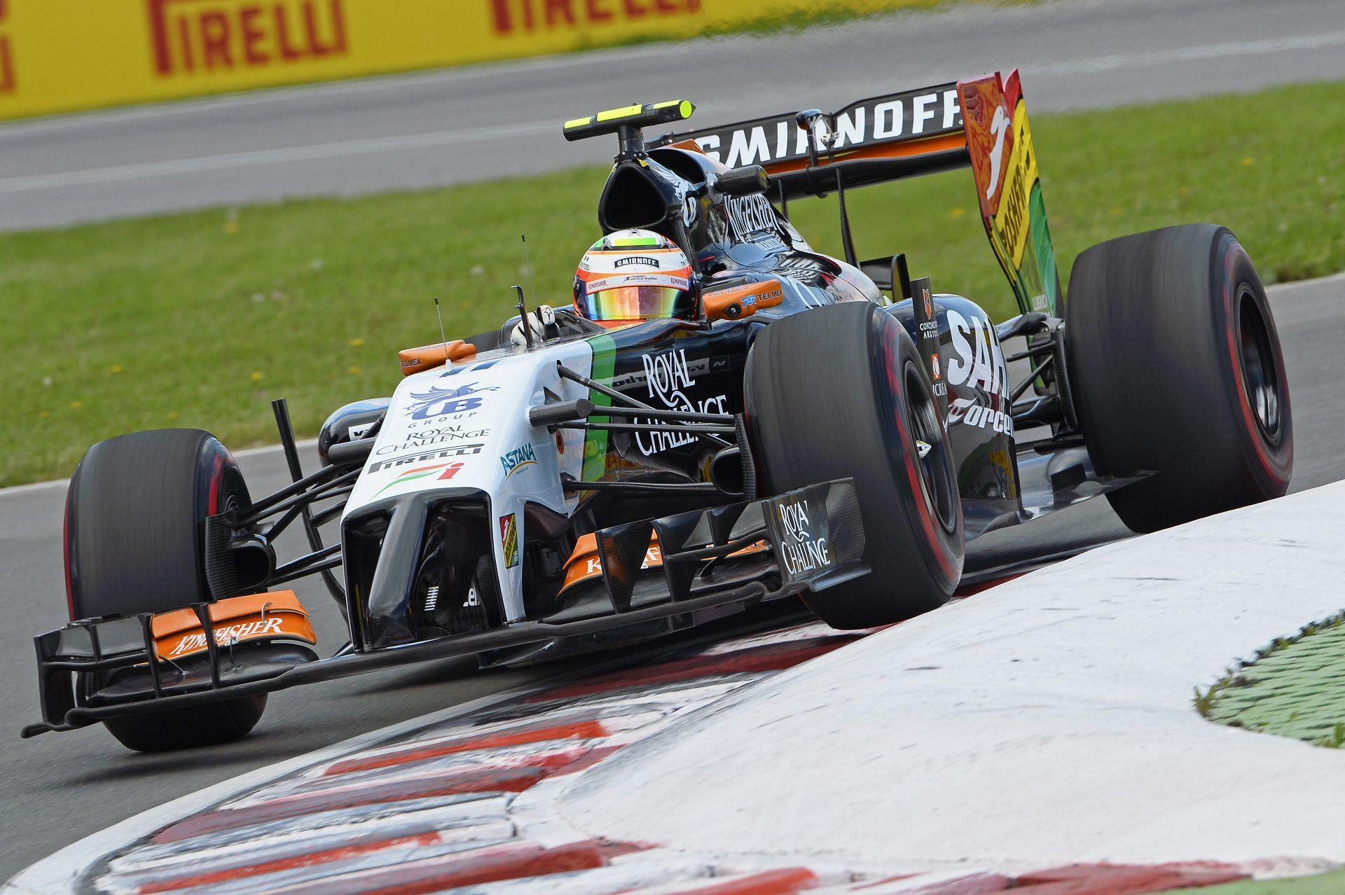 Pérez: Megnéztem a felvételeket és Massa jött belém! Nagyon sokba került a hibája