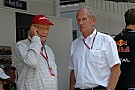Lauda és Marko, a Forma-1 két