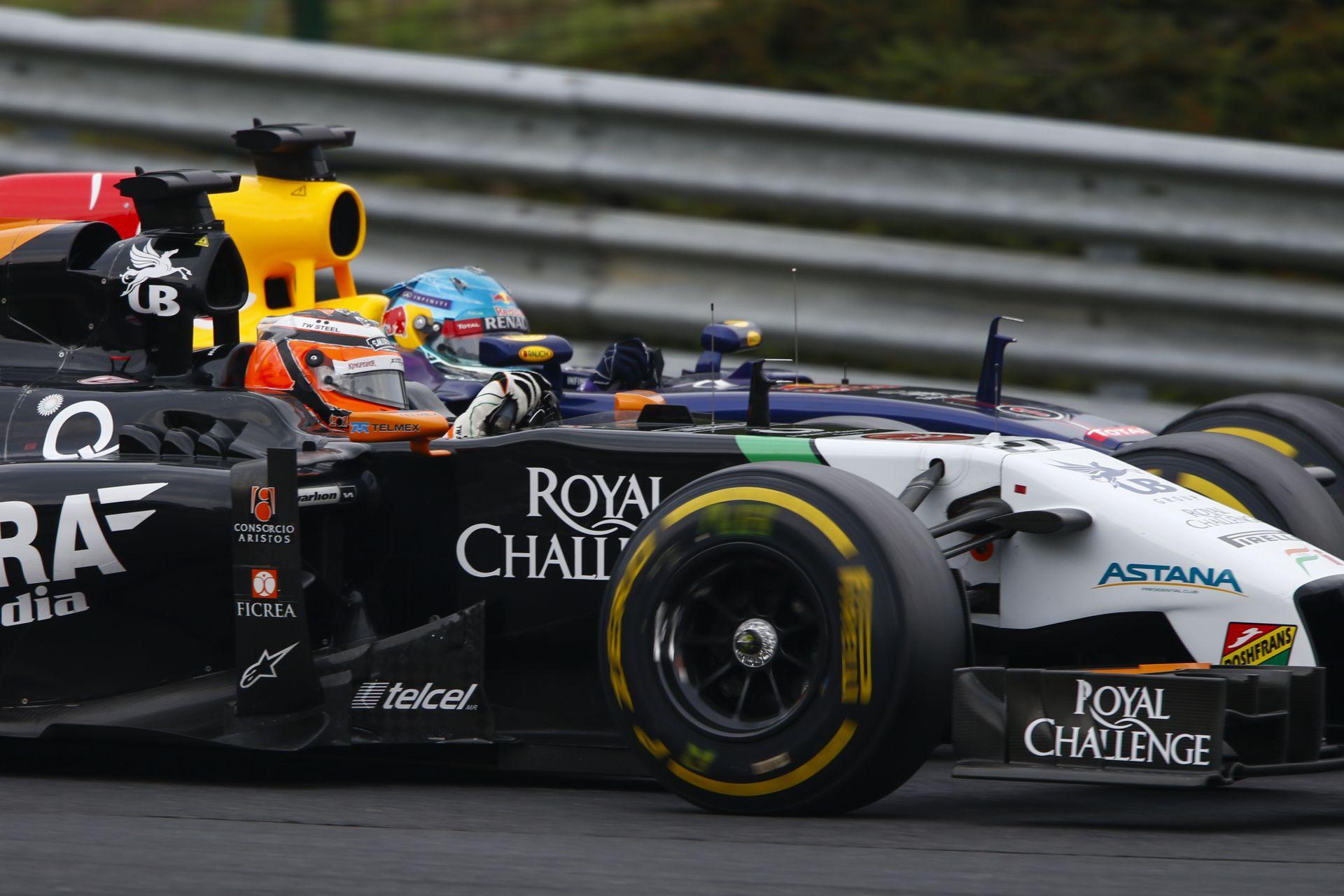 A Force India és a Red Bull is hátrányból indul