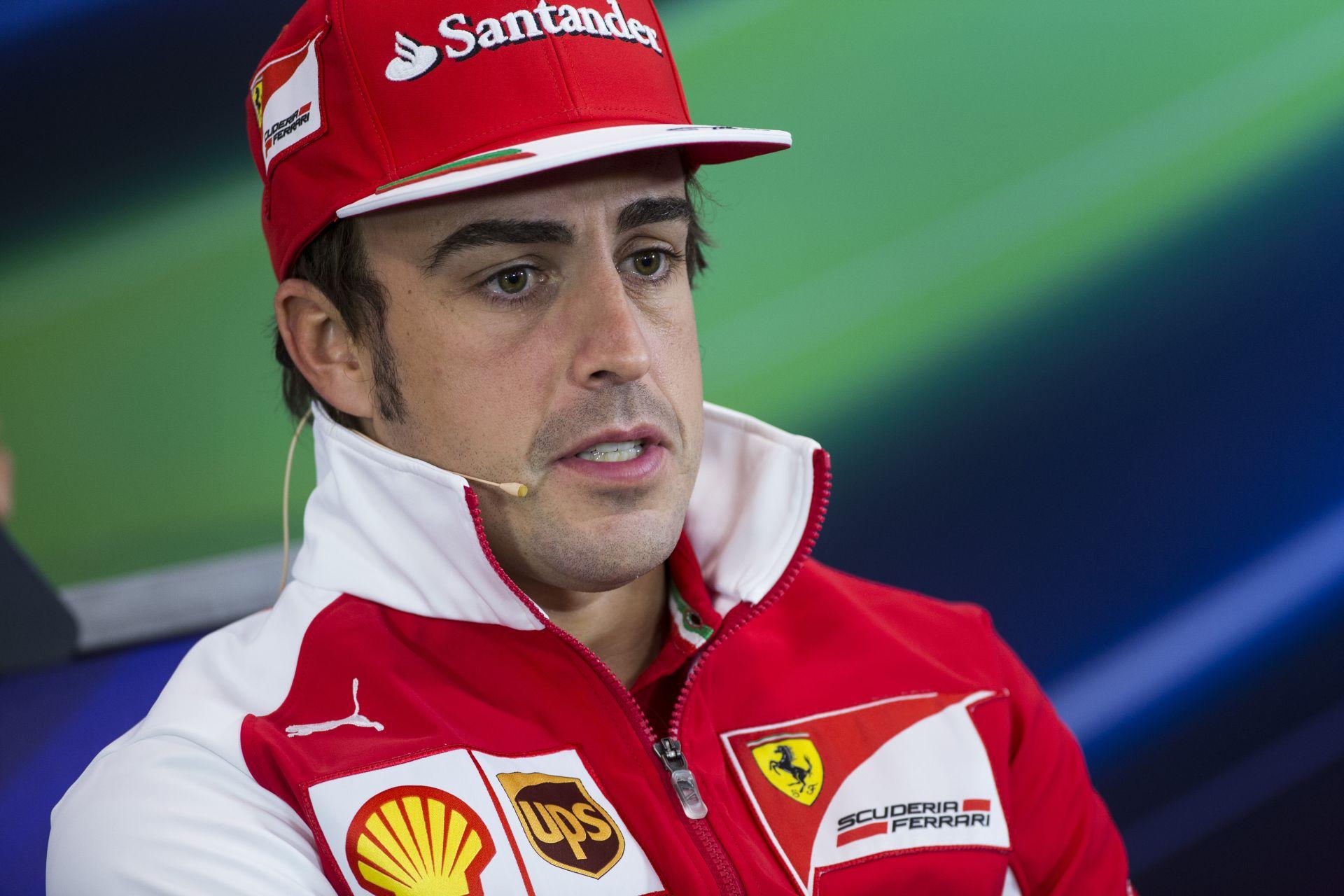 Alonso egyértelműen a legjobb versenyző a Forma-1-ben és boldog a Ferrarinál