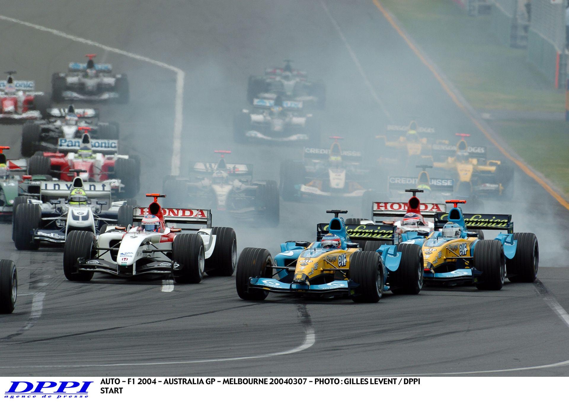 Ausztrál Nagydíj 2004: Baumgartner is a rajtrácson! Palik és Czollner kommentál! A teljes futam!