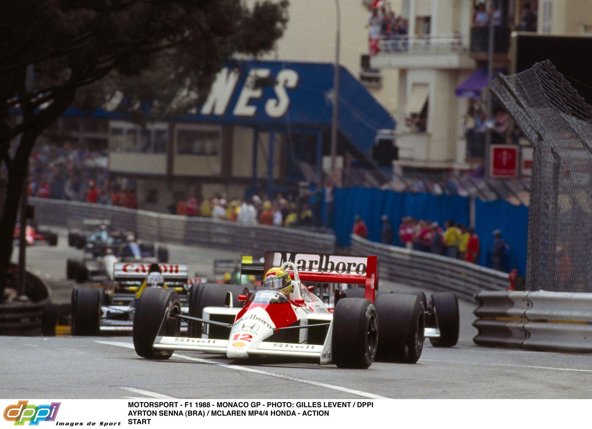 Egy megmagyarázhatatlan vezetői hiba Ayrton Sennától – 1988, Monaco