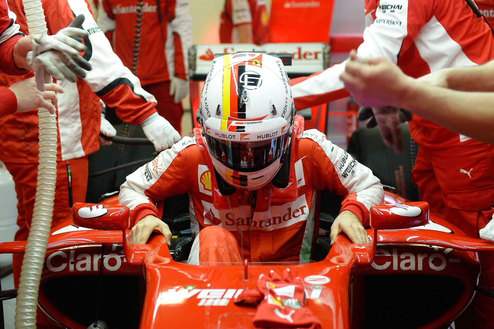 Vettel: Ennél már nem lehetek motiváltabb