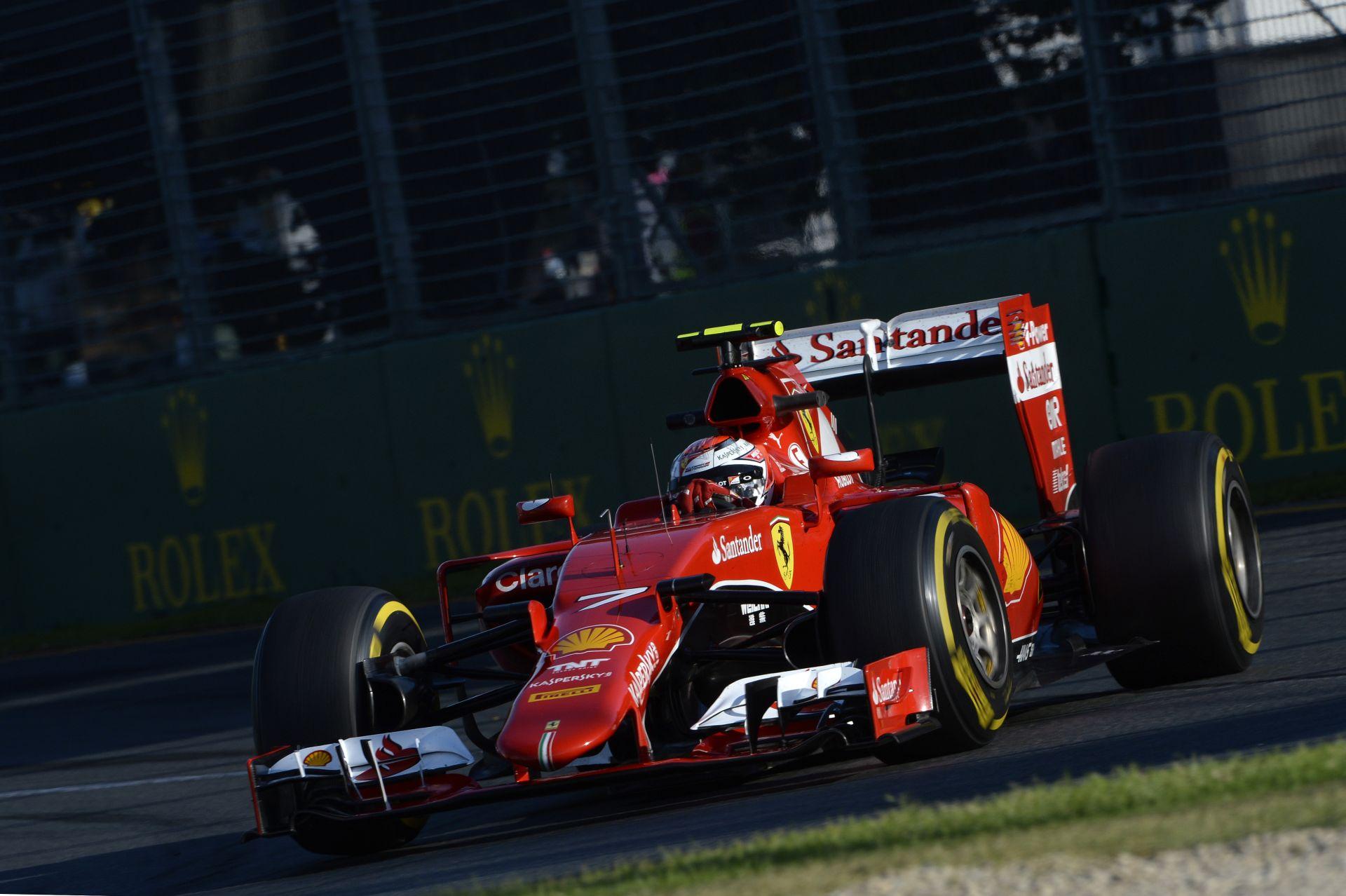 Raikkönen ma a legjobb négybe várja magát a Ferrarival