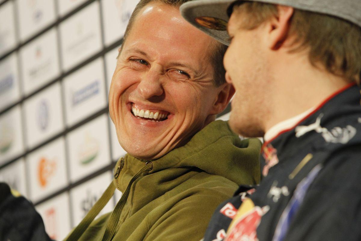 Vettel: nagyon kár, hogy Schumacher nem tud itt lenni velünk