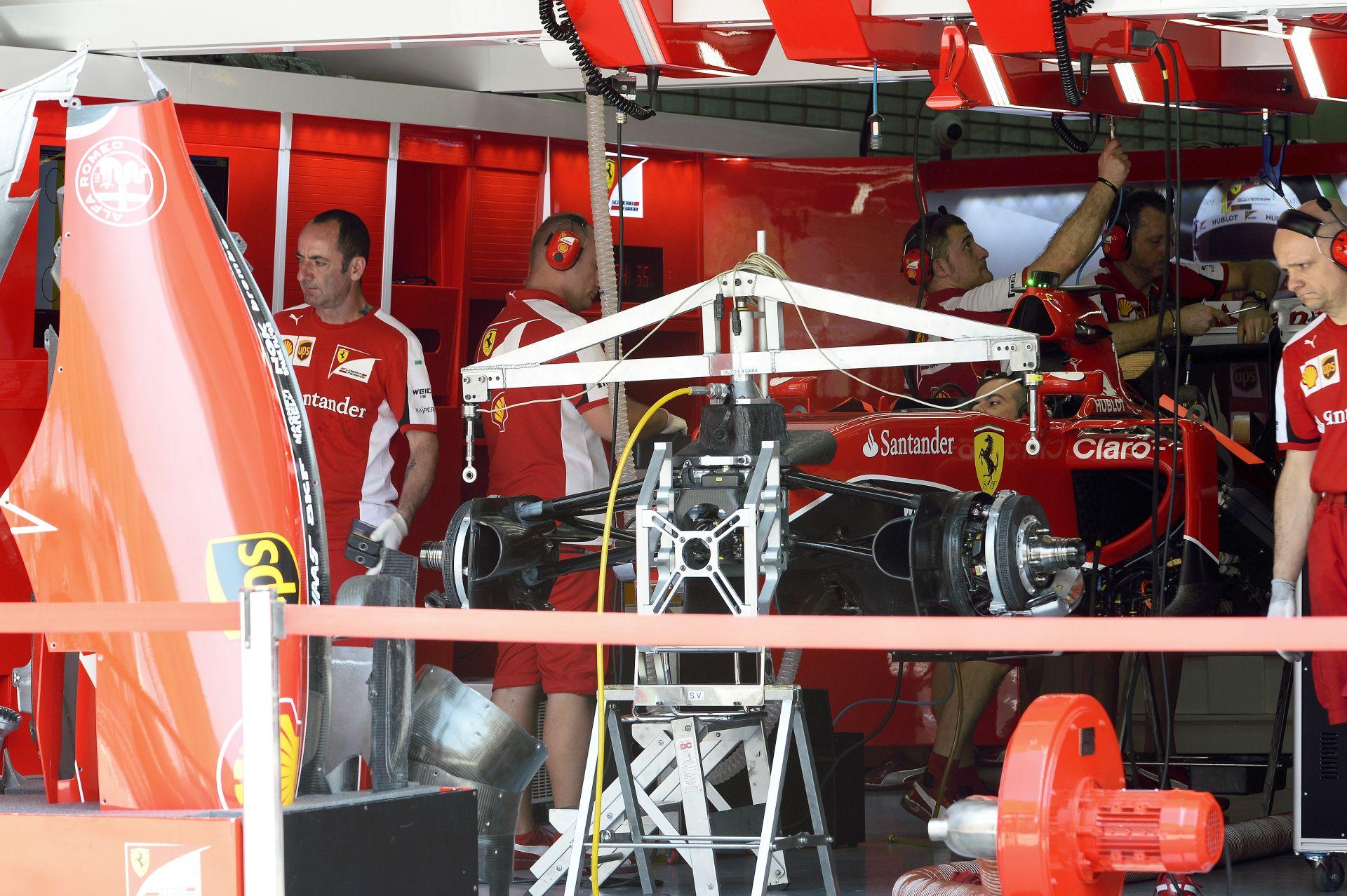 Végre magabiztos a Ferrari: Meglehetősen jónak tűnik a tempónk!