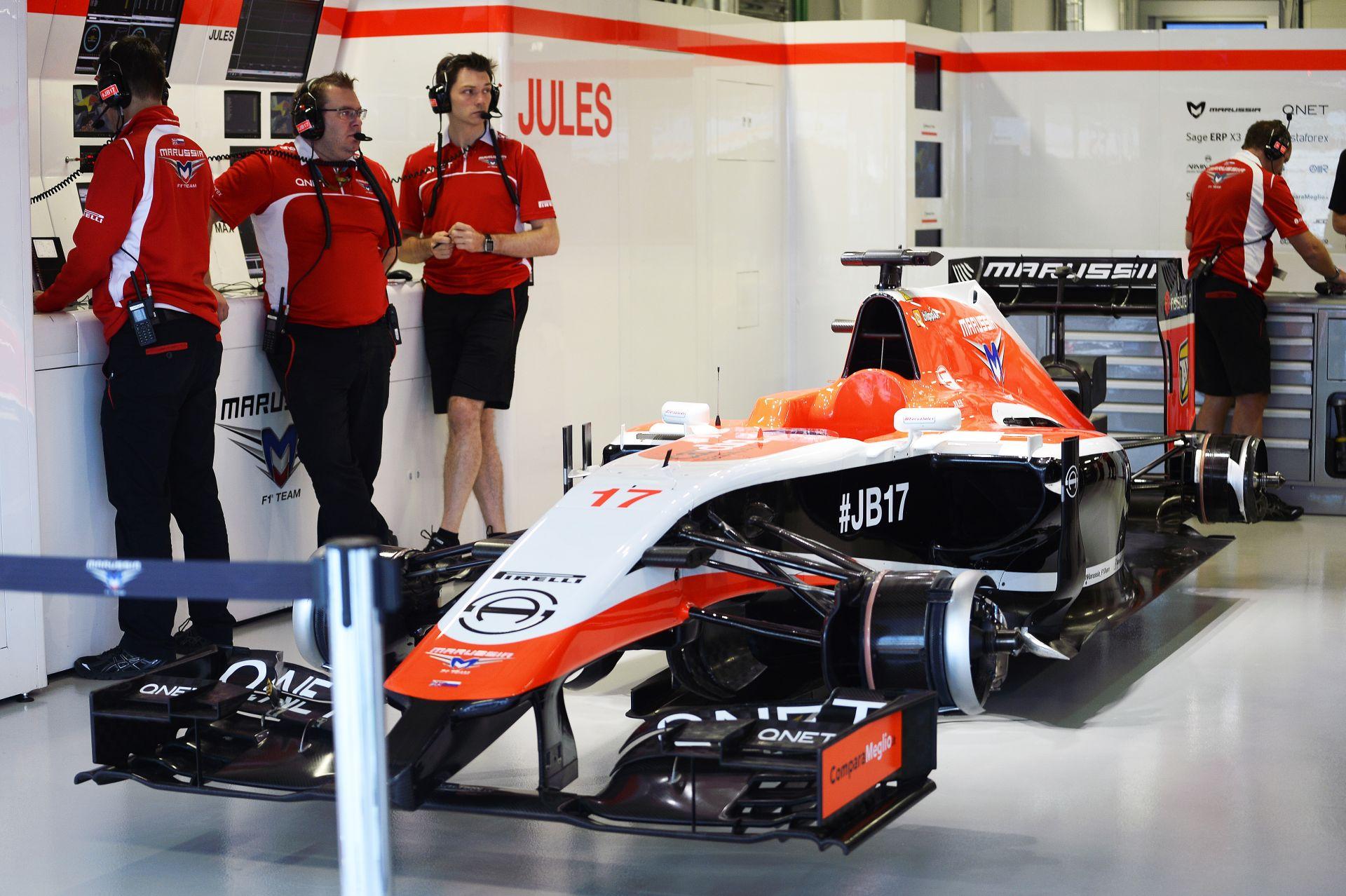 Egy abszurd ötlet az F1-ben: A Marussia a harmadik versenyen térne vissza Kínában