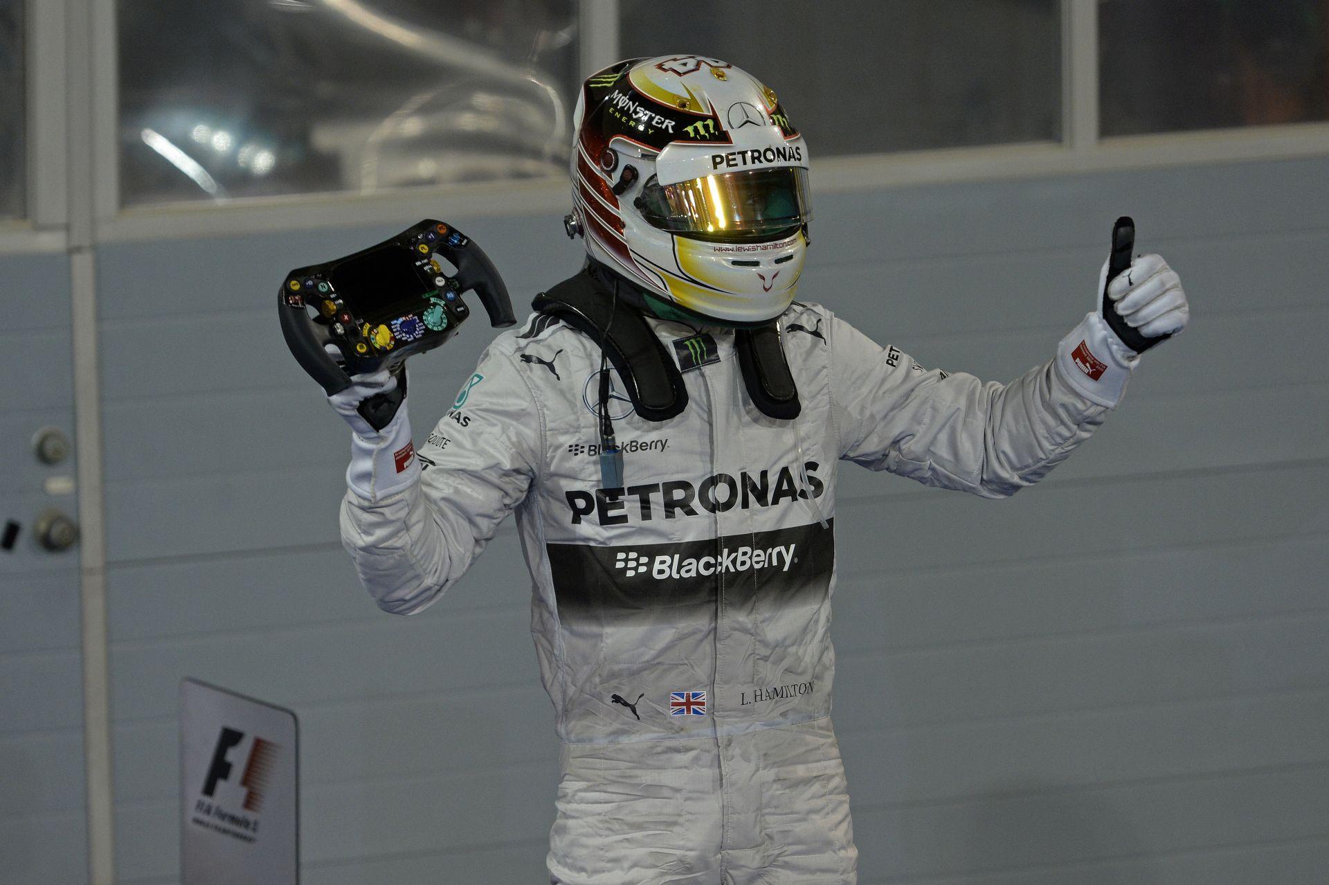 Újabb alázás a Mercedestől: Képekben az öröm pillanatai Bahreinből