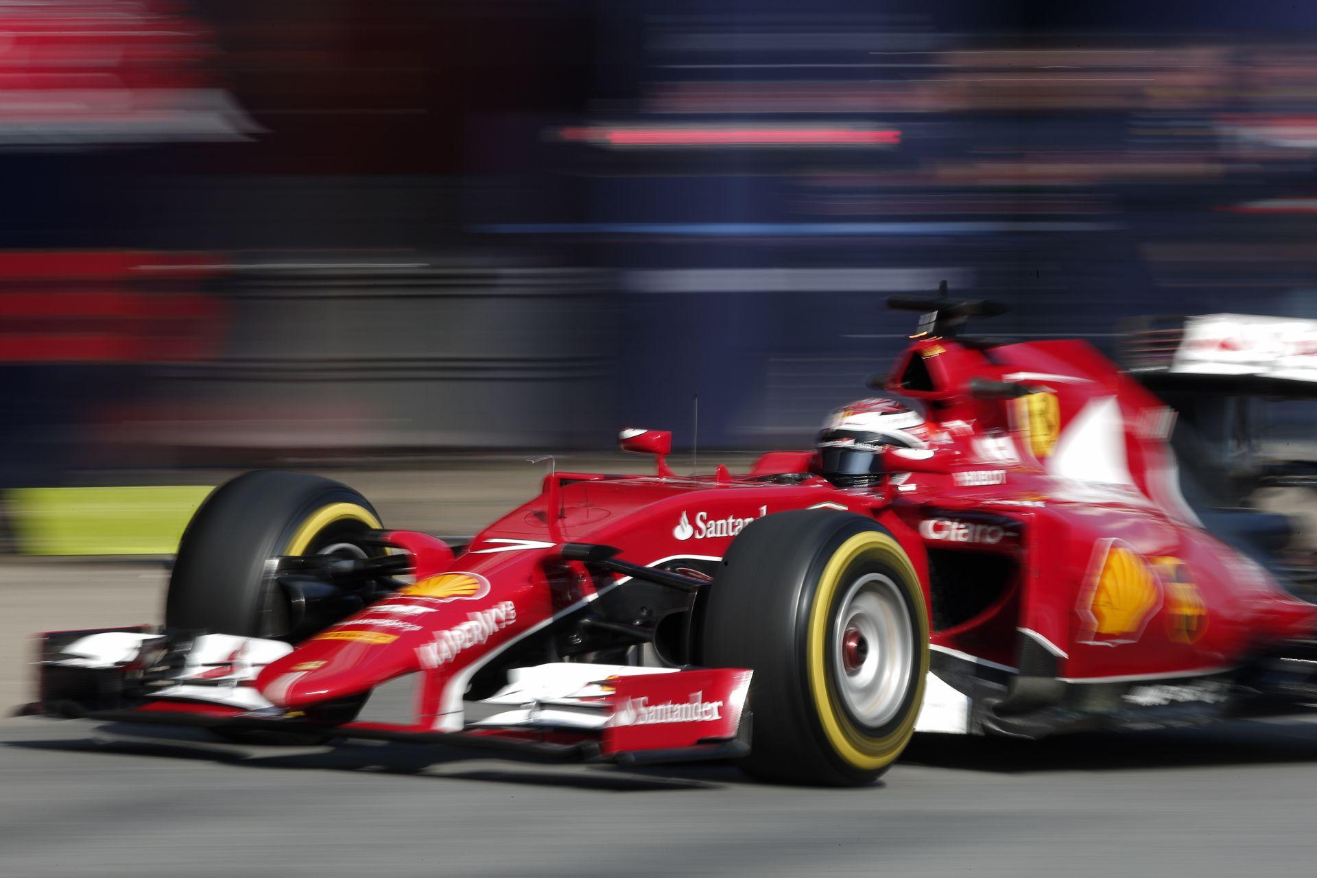 Raikkönen jól érzi magát a Ferrariban, ami egyre jobb lesz: Minden területen fejlődött az SF15-T