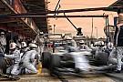 Így cserél kereket a barcelonai teszten a Williams F1 Team: Videó