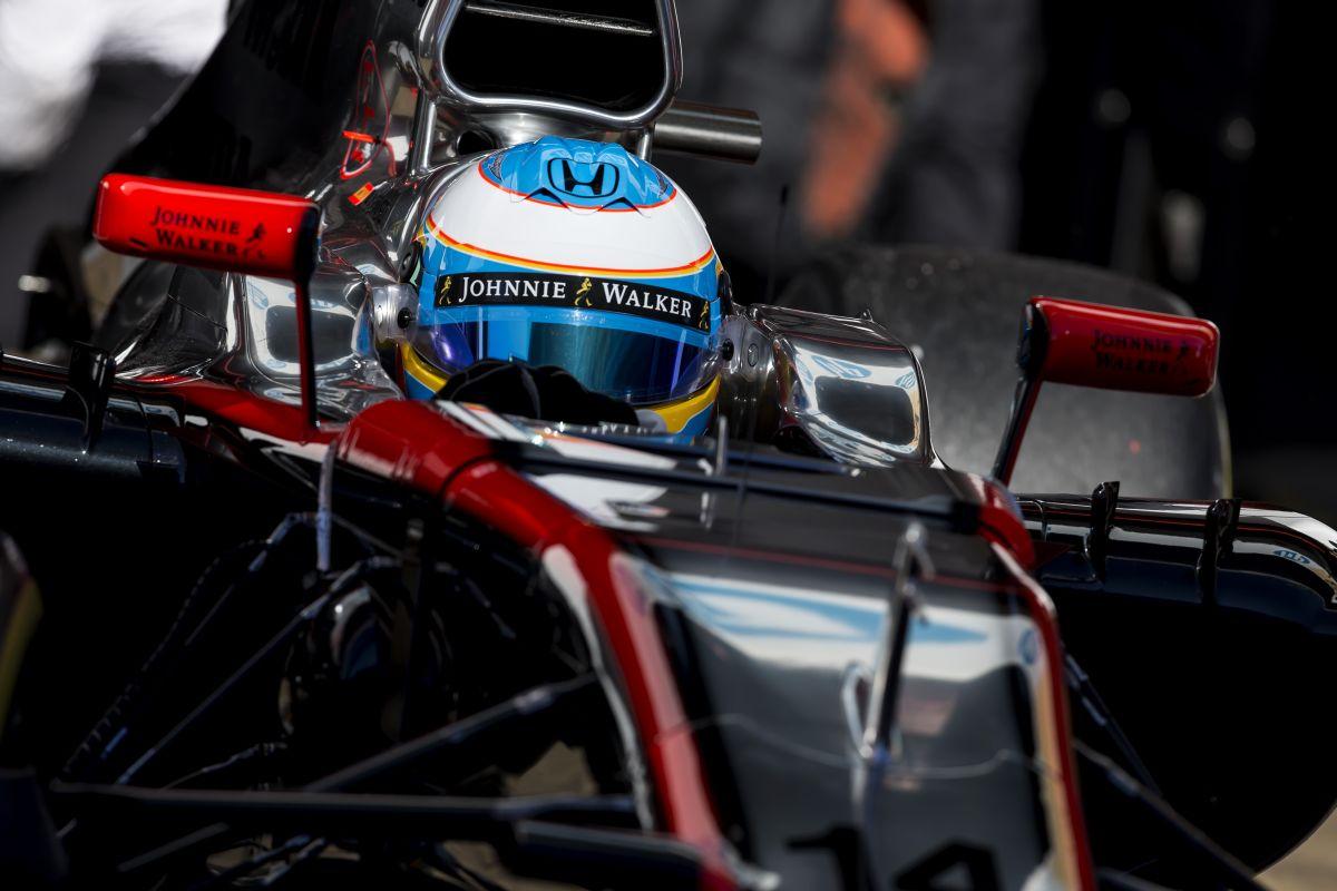 Alonso sértetlen, kórházban tölti az estét megfigyelés céljából