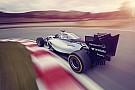 Pályára vitték a Williams Martini Racing festésű FW36-ot