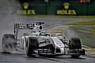 Szárazon jobb a Williams: Massa többet remélt a 9. helynél
