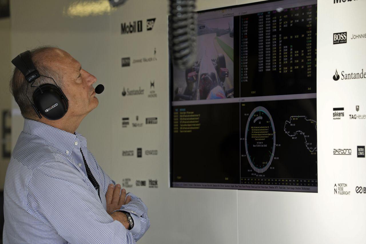 Nyerni fog a McLaren, de Dennis nem mondja meg, mikor