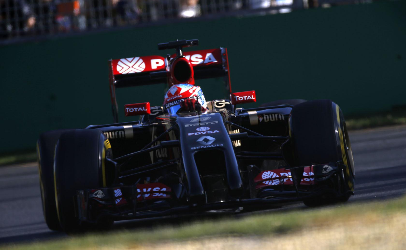 Grosjean: Néha még a gázt sem nyomhatjuk az új Forma-1-ben