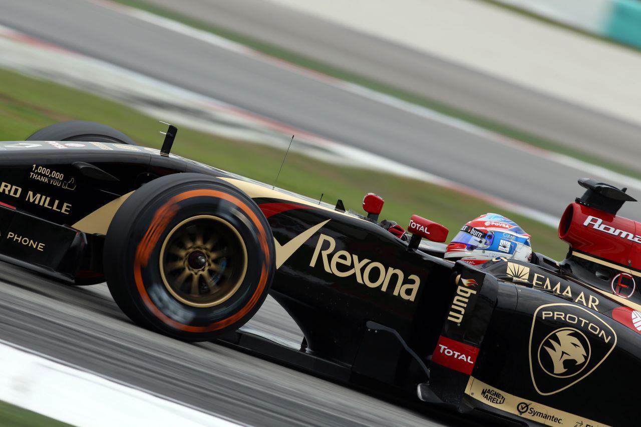 Grosjean szerint fejlődik a Lotus: Wohooo, megvan a Q2!