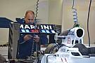 Williams: c'è un alettone posteriore molto scarico