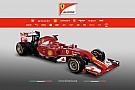 A nagy pillanat: Megérkezett Alonso és Raikkönen új autója – Ferrari F14-T