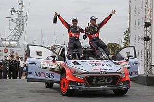WRC Crónica de Carrera Neuville completa su exitoso fin de semana en Italia