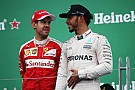 Vettel grapt tegenover Hamilton: