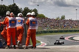FIA F2 BRÉKING GP2: durva baleset Barcelonában