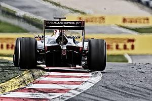 FIA F2 BRÉKING Horrorisztikus baleset a belga GP2-futamon: de Jong nagyot szállt